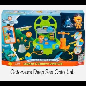 Octonauts Deep Sea Octo-Lab. Like New Not In Box
